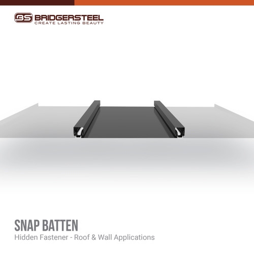 Available in a variety of colors, rustic prints, and specialty finishes, our Snap Batten gives you true versatility for your next project.