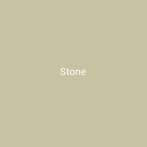 Stone –A  light tan painted metal by Bridger Steel for exterior or interior projects.