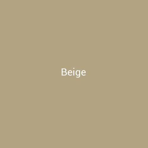 Beige – A dark tan painted metal by Bridger Steel for exterior or interior projects.