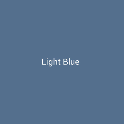 Light Blue - A light blue finish by Bridger Steel for exterior and interior projects.