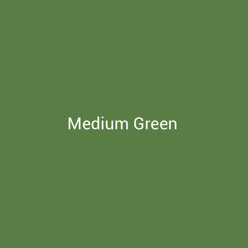Medium Green - A bright green metal finish by Bridger Steel for interior and exterior applications.