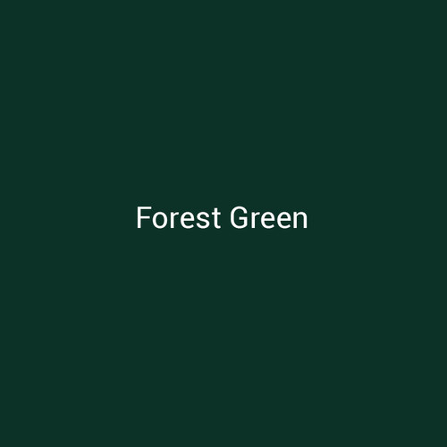 Forest Green - A dark green metal finish by Bridger Steel for interior or exterior applications.