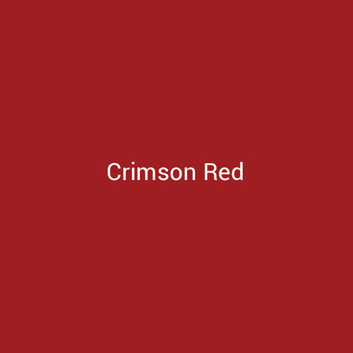 Crimson Red – A red metal finish by Bridger Steel for interior and exterior applications.