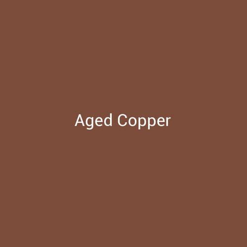 Aged Copper - A metallic finish designed to replicate natural aged copper by Bridger Steel for exterior and interior projects.