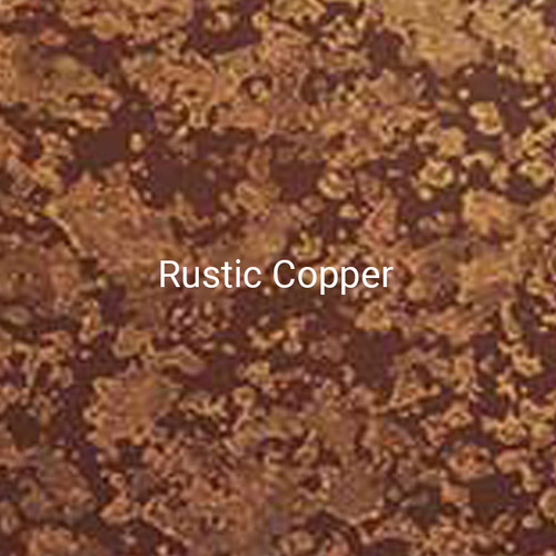 Rustic Copper - A specialty print by Bridger Steel that emulate copper as it patinas with a metallic and brown finish.