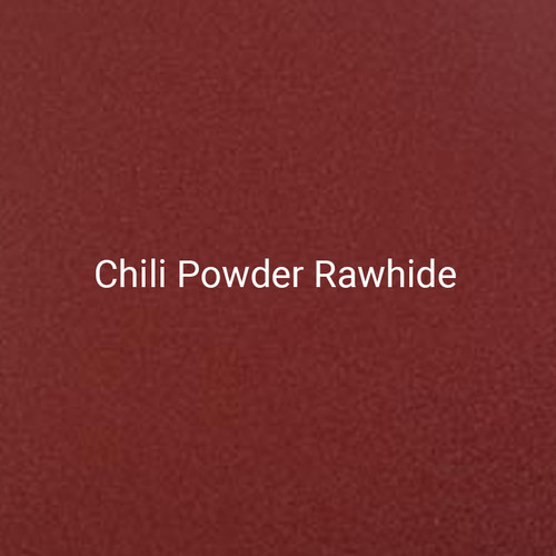 Chili Powder Rawhide - A bright red, textured finish by Bridger Steel for exterior or interior projects.