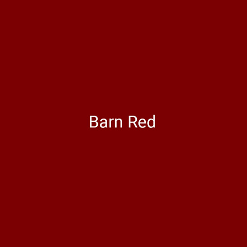 Barn Red - A bright red finish by Bridger Steel for interior and exterior applications.