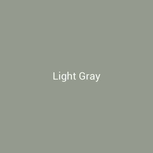 Light Gray  - A light gray finish by Bridger Steel for exterior and interior projects.