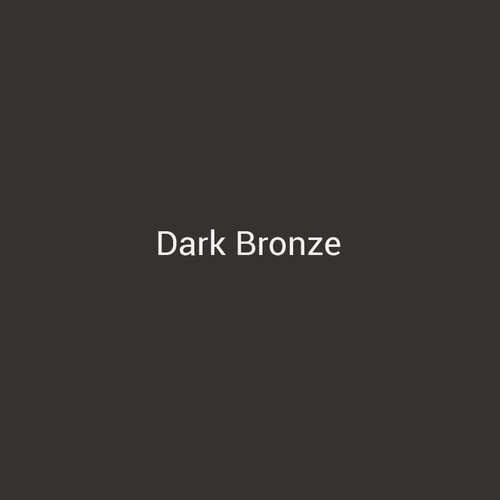 Dark Bronze - A dark bronze finish by Bridger Steel for interior and exterior applications.
