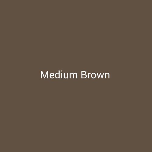Medium Brown -  A medium brown metal finish by Bridger Steel for interior and exterior applications.