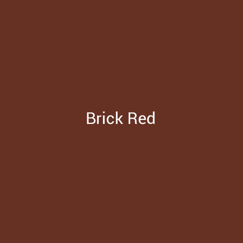 Brick Red – A deep red metal finish by Bridger Steel for interior and exterior applications.