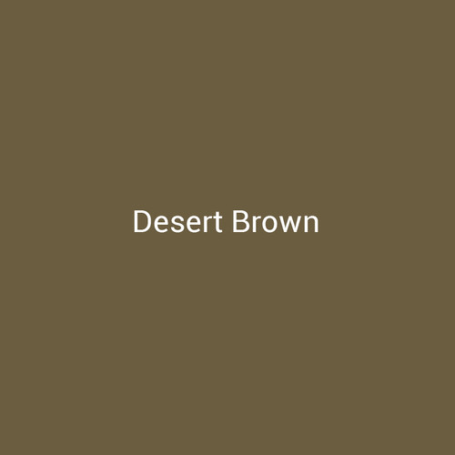 Desert Brown - A light brown metal finish with yellow undertones by Bridger Steel for interior and exterior applications.