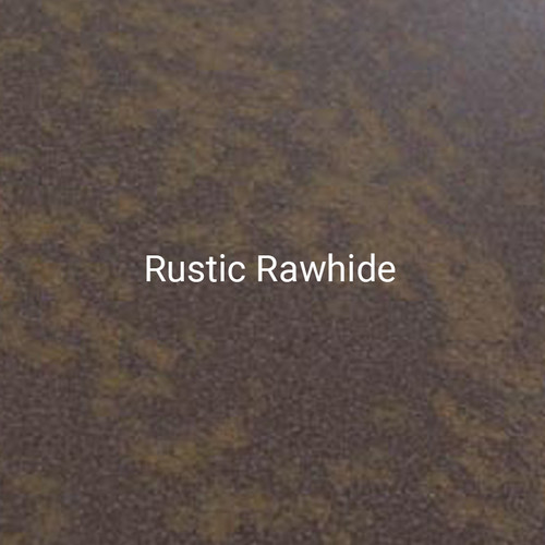 Rustic Rawhide - A textured print from Bridger Steel designed as a weathering steel alternative.