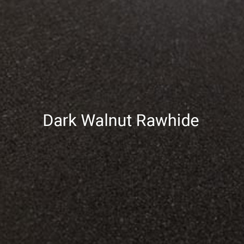 "24ga. Dark Walnut Rawhide 4"" Color Sample"