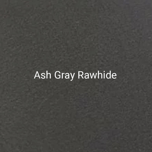 "24ga. Ash Gray Rawhide 4"" Color Sample"