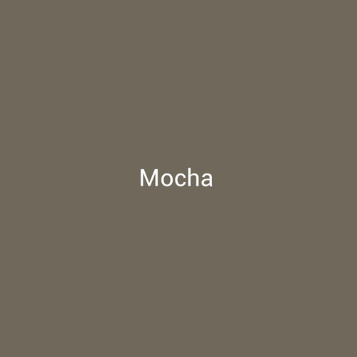 Mocha - A light brown color with a warm finish by Bridger Steel for interior and exterior applications.