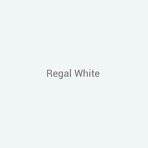 Regal White -  A cool white finish by Bridger Steel for exterior and interior projects.