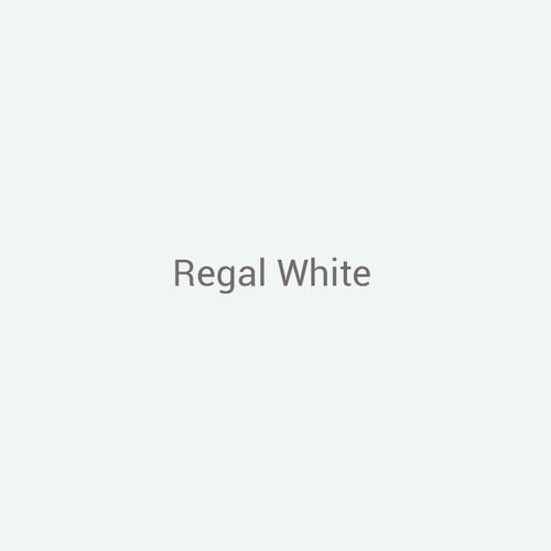 "24ga. Regal White 12"" Color Sample"
