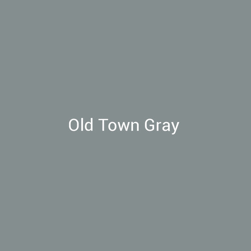 Old Town Gray - A gray finish by Bridger Steel for interior and exterior applications.