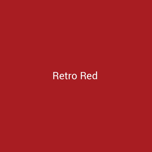 Retro Red - A bright red finish by Bridger Steel for interior and exterior applications.