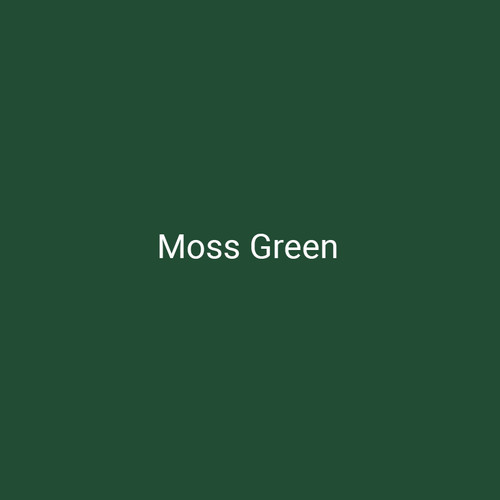 Moss Green - A dark green finish by Bridger Steel for interior or exterior applications.