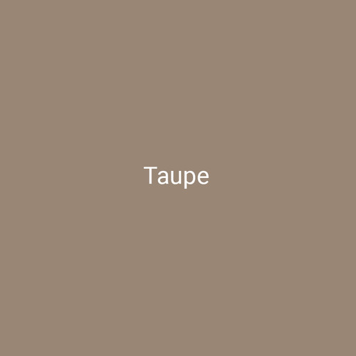 Taupe - A neutral brown finish by Bridger Steel for interior and exterior applications.