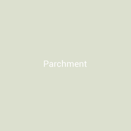 Parchment - A light white finish by Bridger Steel for interior and exterior applications.