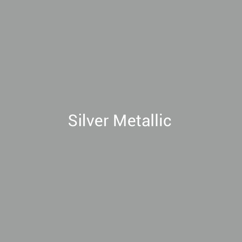 Silver Metallic - A metallic finish by Bridger Steel for interior and exterior applications.