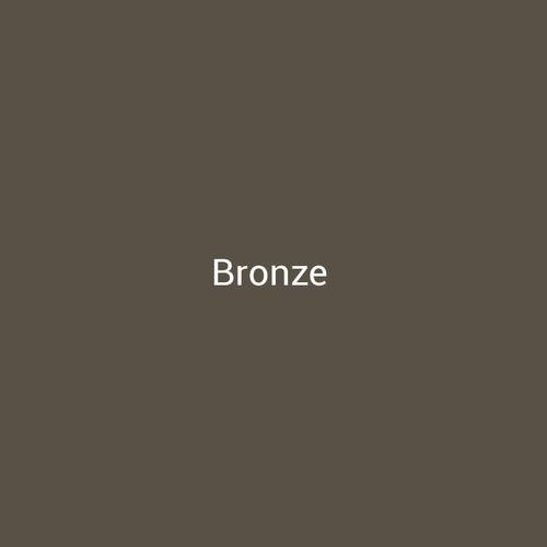 """24ga. Bronze 4"""" Color Sample"""