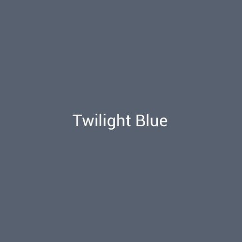 Twilight Blue -  A dark blue metal finish by Bridger Steel for interior and exterior accents.