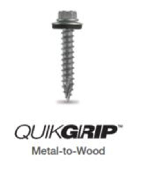 "QuikGrip Stainless Rambo Rust WoodFast 14-10 x 2"""