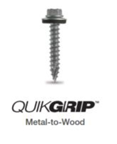 QuikGrip Stainless Rambo Rust 10-16 x 1.5""