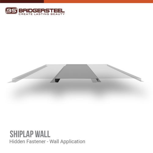 Shiplap Wall Panel - Metal Panel System