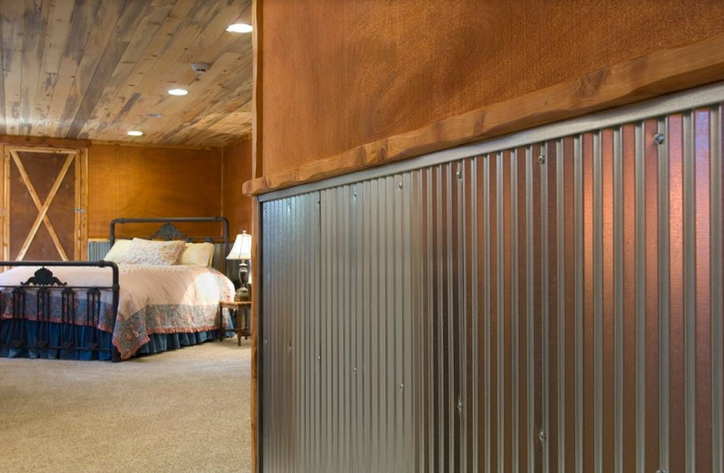 5 Ways Corrugated Metal Wainscoting Can Change Your Space