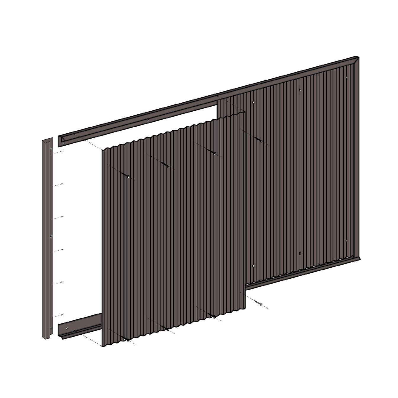 Wainscot Panel Kits