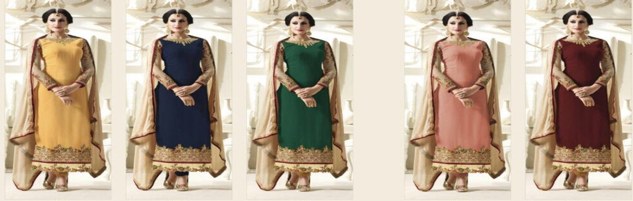 Salwar Straight Suits