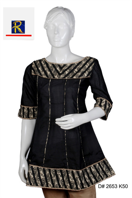 Beatiful Black Kurti | elegant embrodiery | Border Work| Buy Now