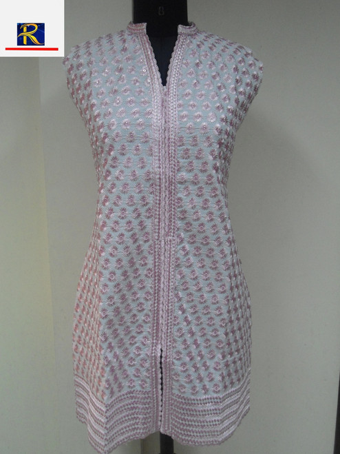 Classic fashion Kurti | Available in following colours: Blue, Purple, Yellow & Green | Buy Now