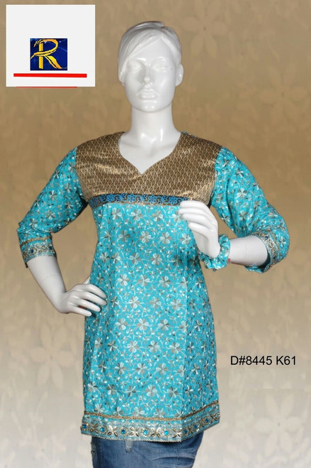 Full Embroidered work with Floral motifs | Buy Now