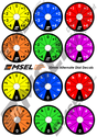 MSEL Rotary Dial Optional Decal Sheet