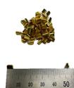 Mini Brass U Splice Terminal - 100 Pack - non-insulated