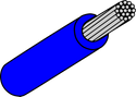Wire Mil Spec M22759/32 Blue 18AWG Wire