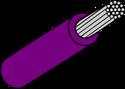 Wire Mil Spec M22759/32 Violet 18AWG Wire