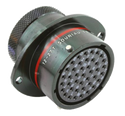 Autosport 41-Way Bulkhead Connector with Sockets - Red