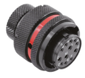 Autosport 12-Way Mixed Plug Connector with Sockets - Red