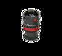 Deutsch Autosport Lite 5-Way Inline Receptacle with Sockets - Red