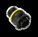 Deutsch Autosport Lite 5-Way Plug Connector with Pins - Yellow
