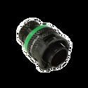 Deutsch Autosport Lite 5-Way Plug Connector with Pins - Green