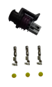 3-Way Delphi Connector Female Connector Kit