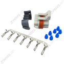GM 7-Way Female Coil Subloom Connector Kit with Terminals